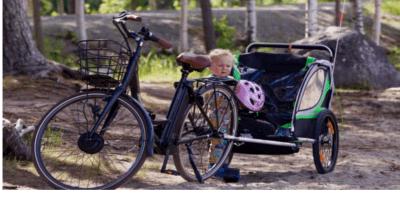 Bästa Cykelvagn 2019: Test och tips hur du väljer rätt